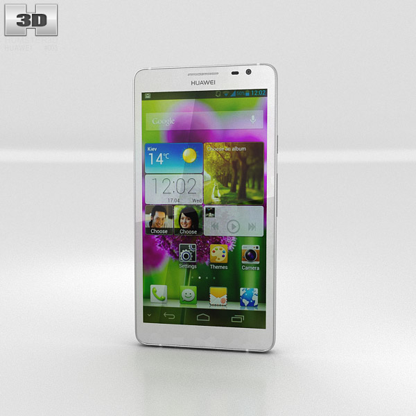 Huawei Ascend D2 3d model