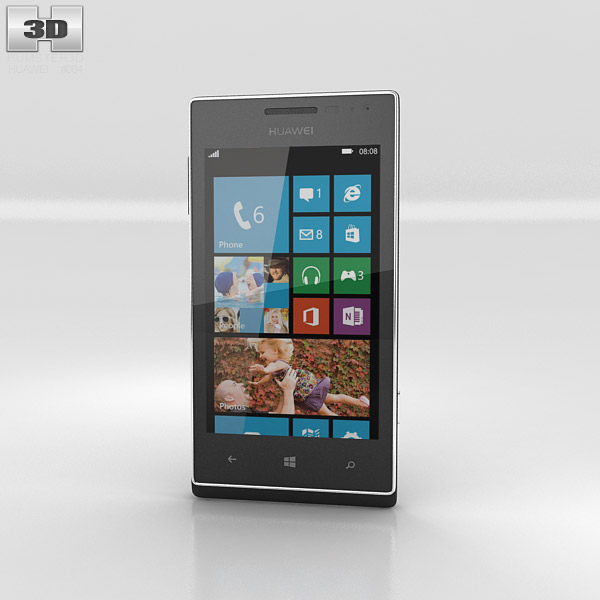Huawei Ascend W1 3d model