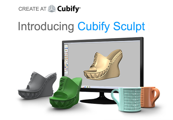 Introducing Cubify sculpt