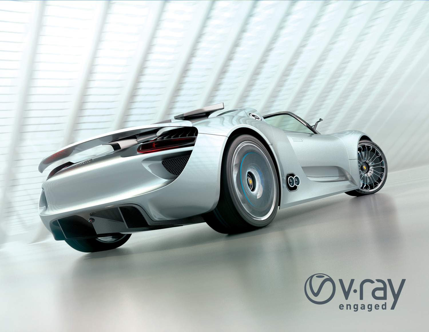 v-ray autoproduct design