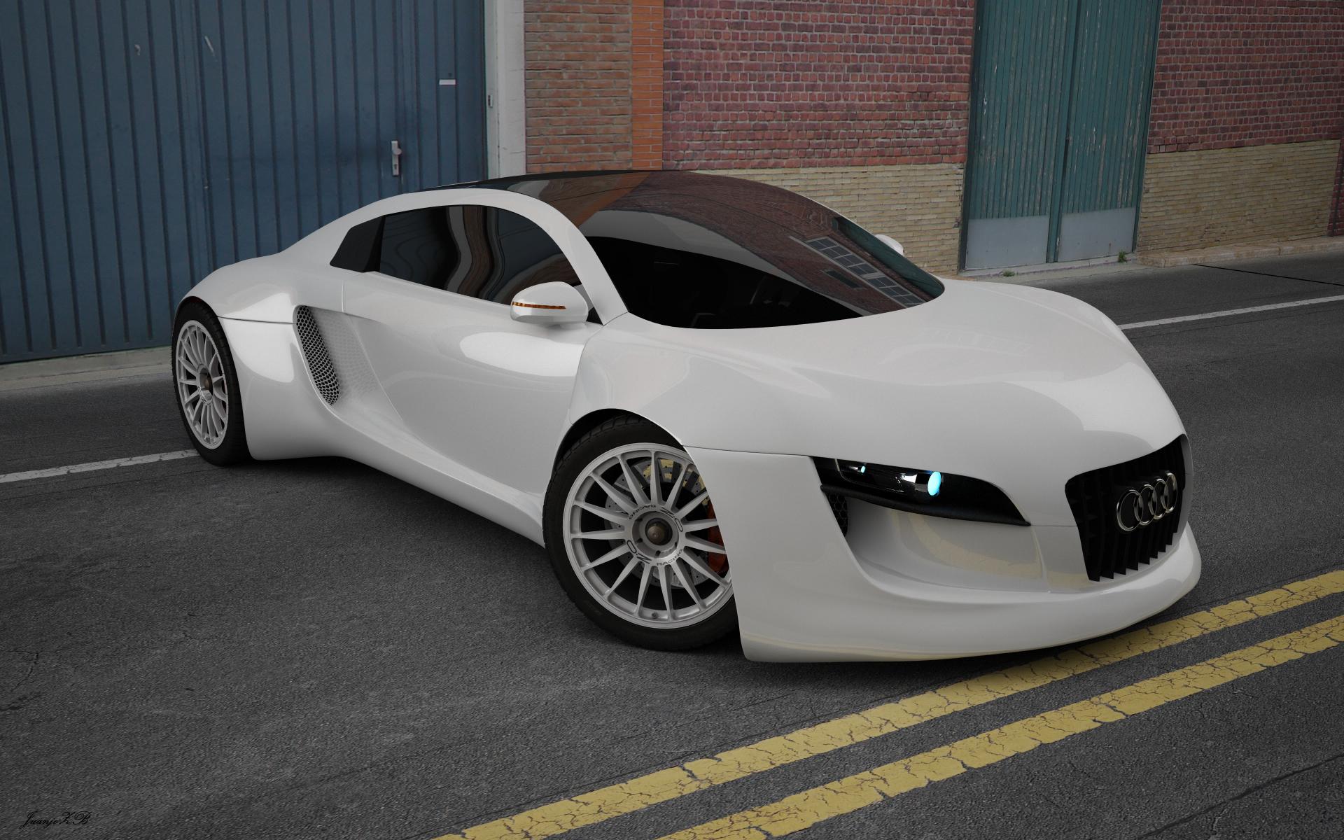 Audi RSQR concept 3d art