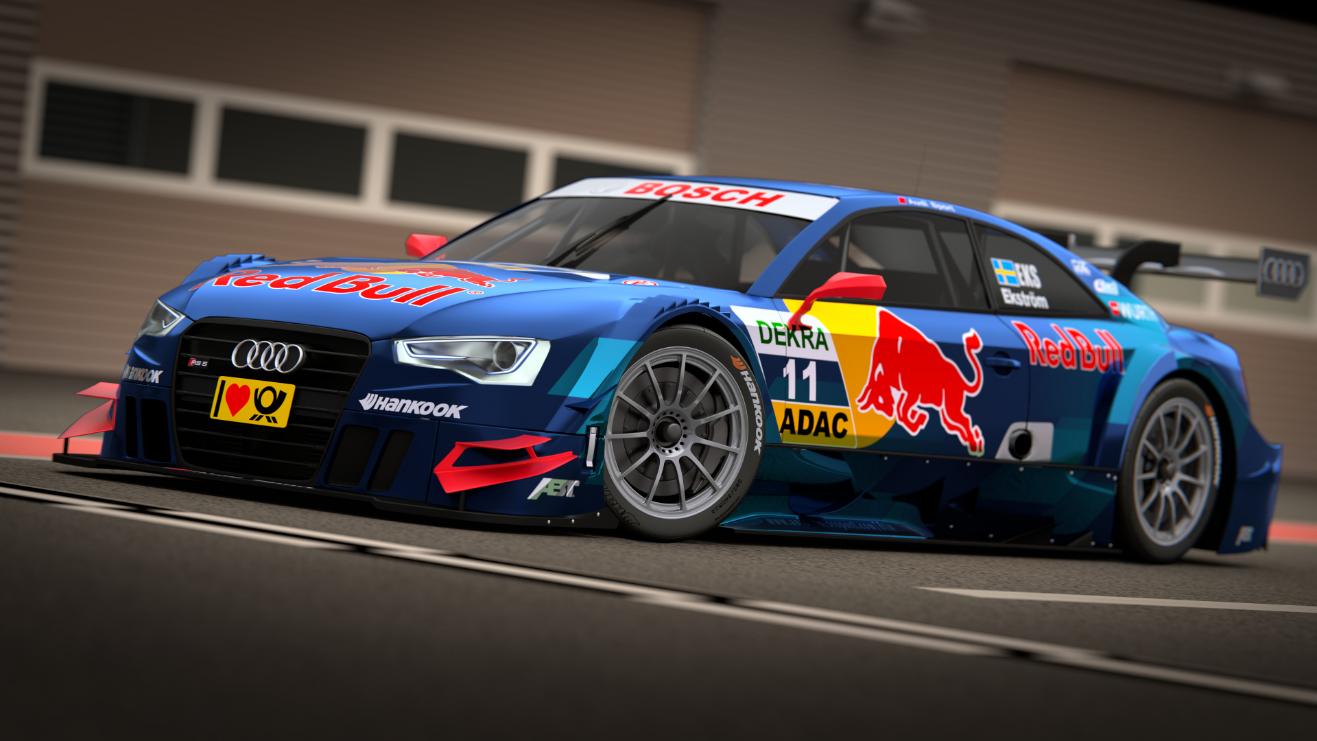 Audi RS5 2013 3d art