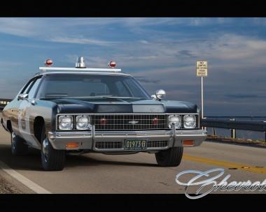 Chevrolet Bel Air `73 Police