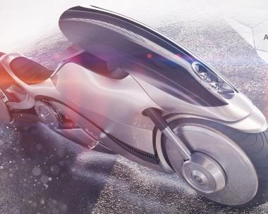 Concept bike Sci-fi