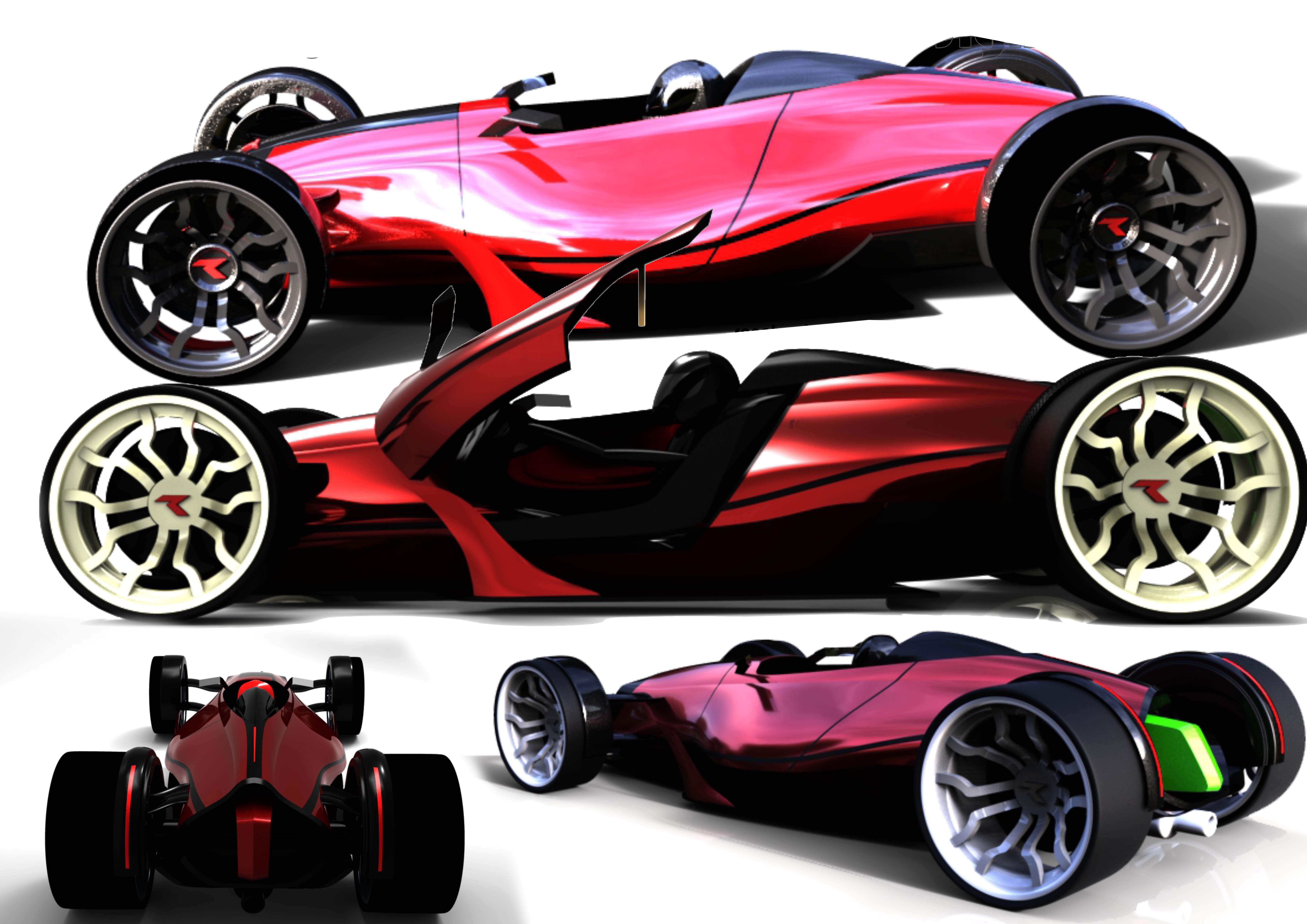Concept car – SPortster 2015 3d art