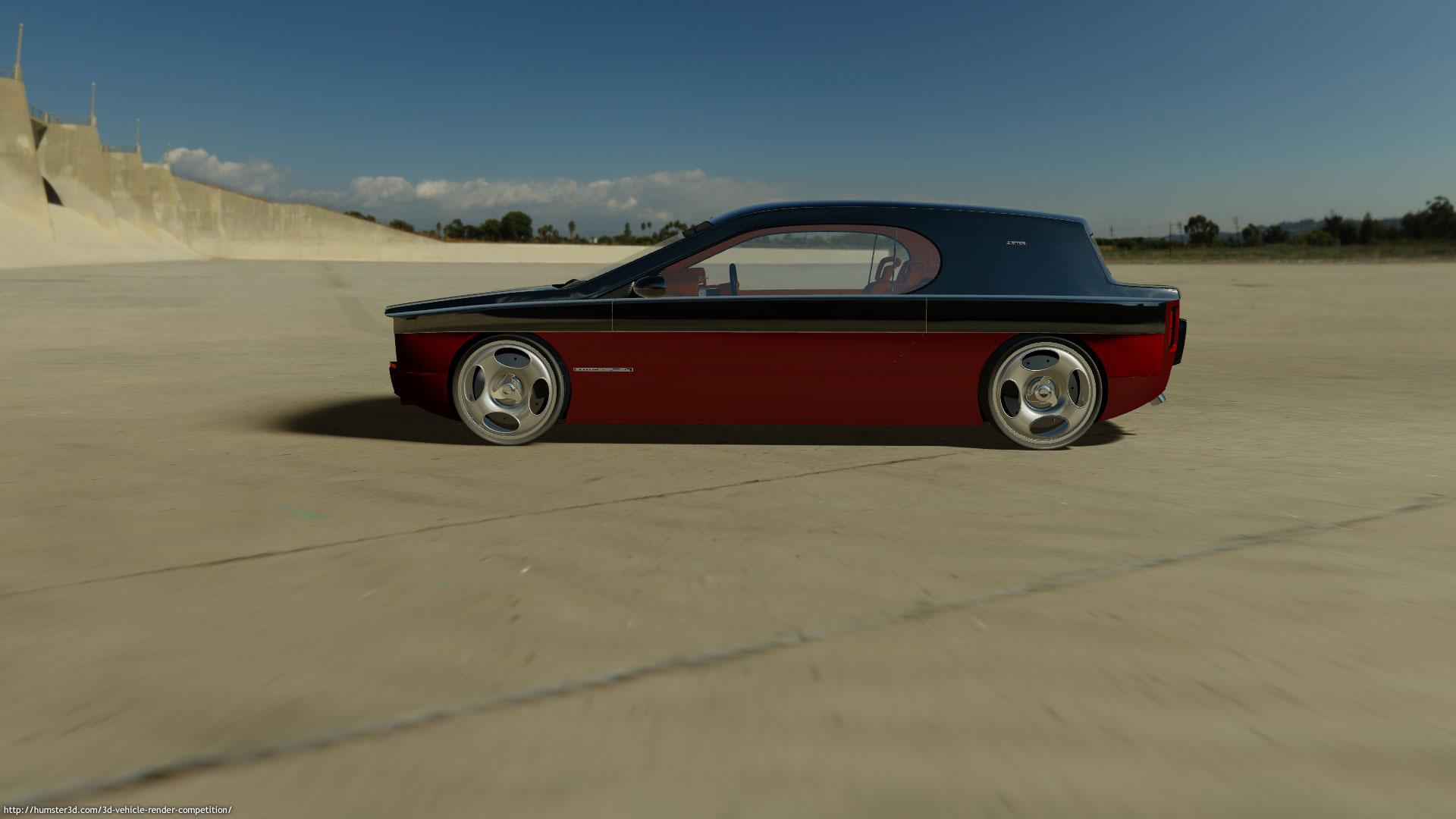 D-Coupe 3d art