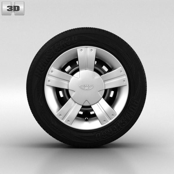 Daewoo Matiz Wheel 13 inch 002 3d model