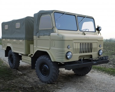 Russian army truck, 1959