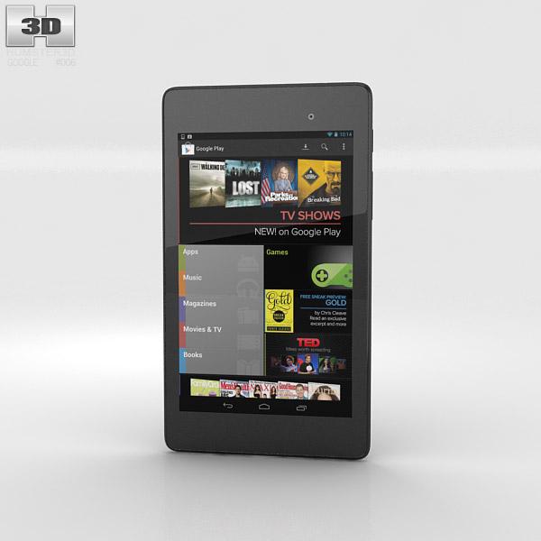 Google Nexus 7 (2013) 3d model