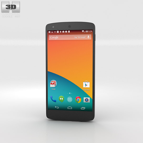 Google Nexus 5 3d model