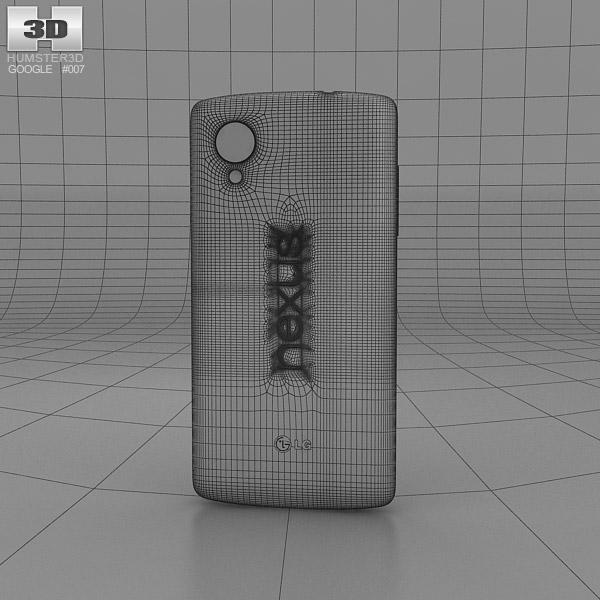 Google Nexus 5 3d Model Hum3d