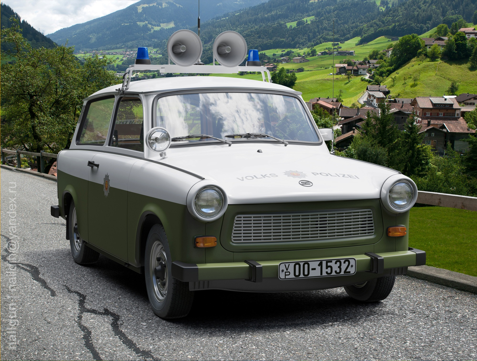 IFA Trabant 1981 DDR Volkspolizei