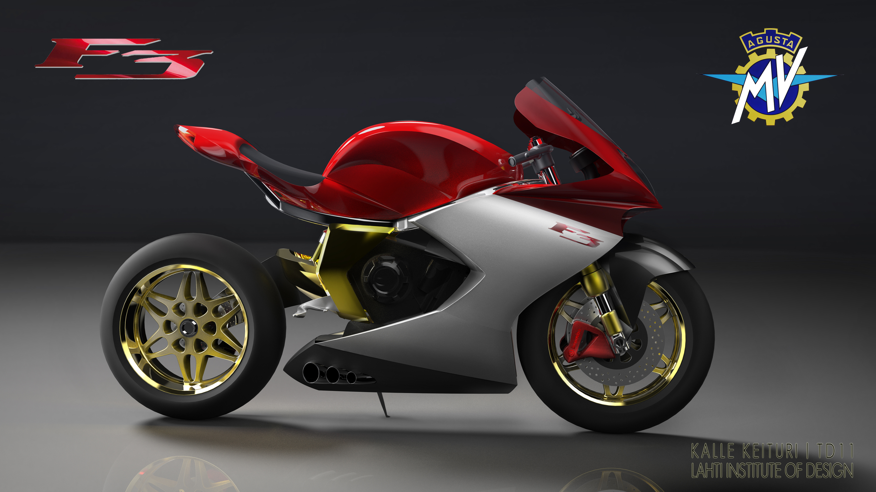 New fresh look for the MV Agusta F3
