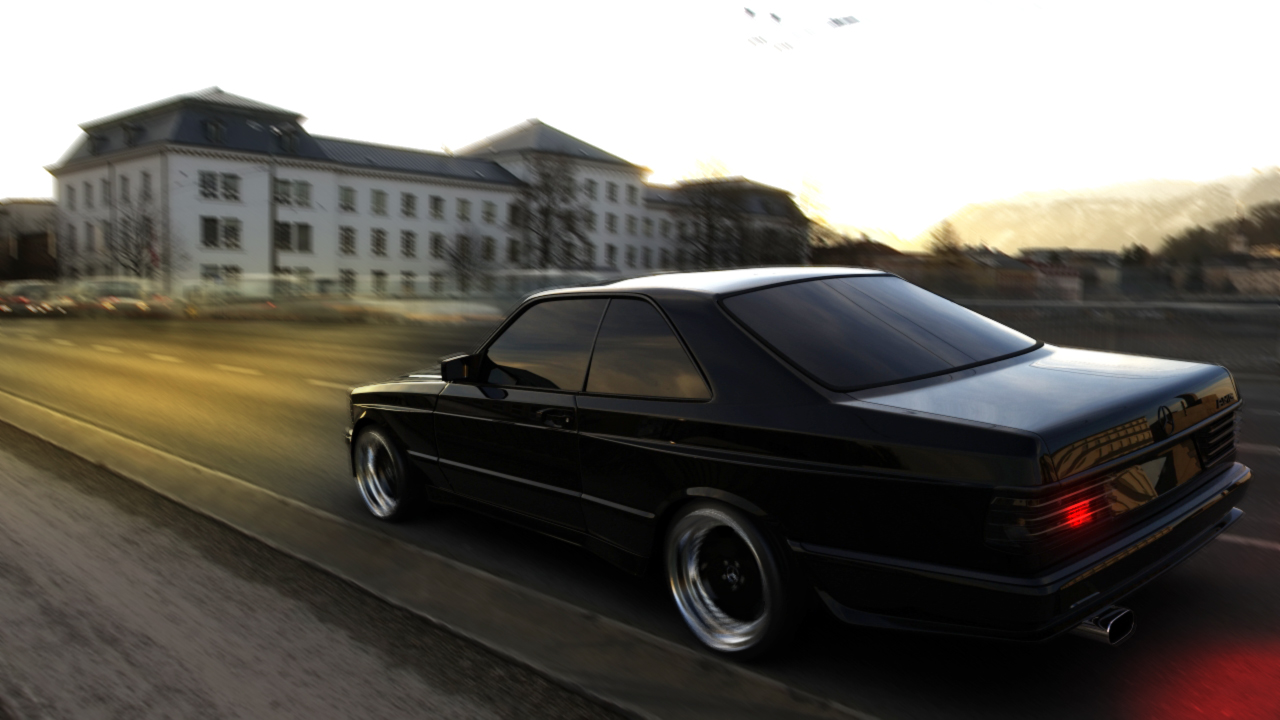 Mercedes 560 SEC AMG Widebody