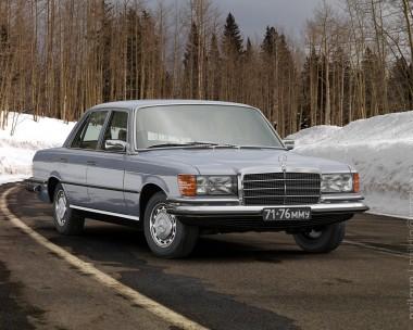 Mercedes W116 350SE