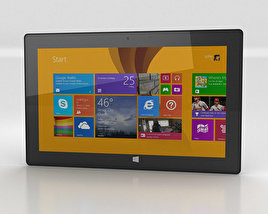 Microsoft Surface Pro 2 3D model