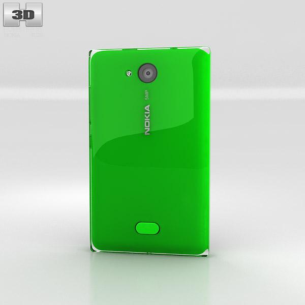 Nokia Asha 503 3d model