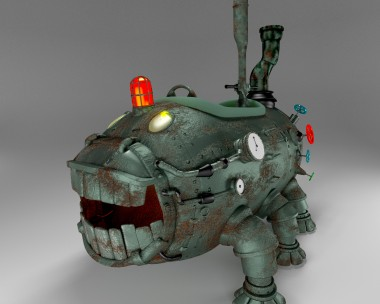 Tank with legs