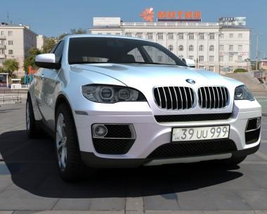 The BMW X6M 2013