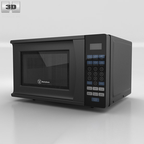 Microwave Oven Westinghouse WCM770B 3d model