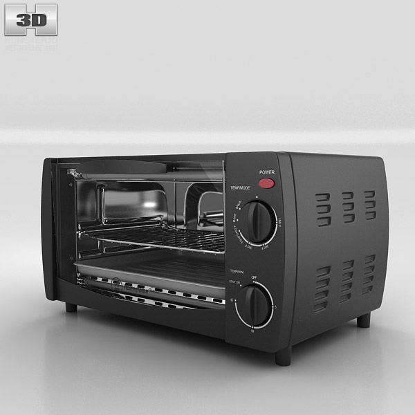 Toaster Oven Westinghouse WTO1010B 3d model