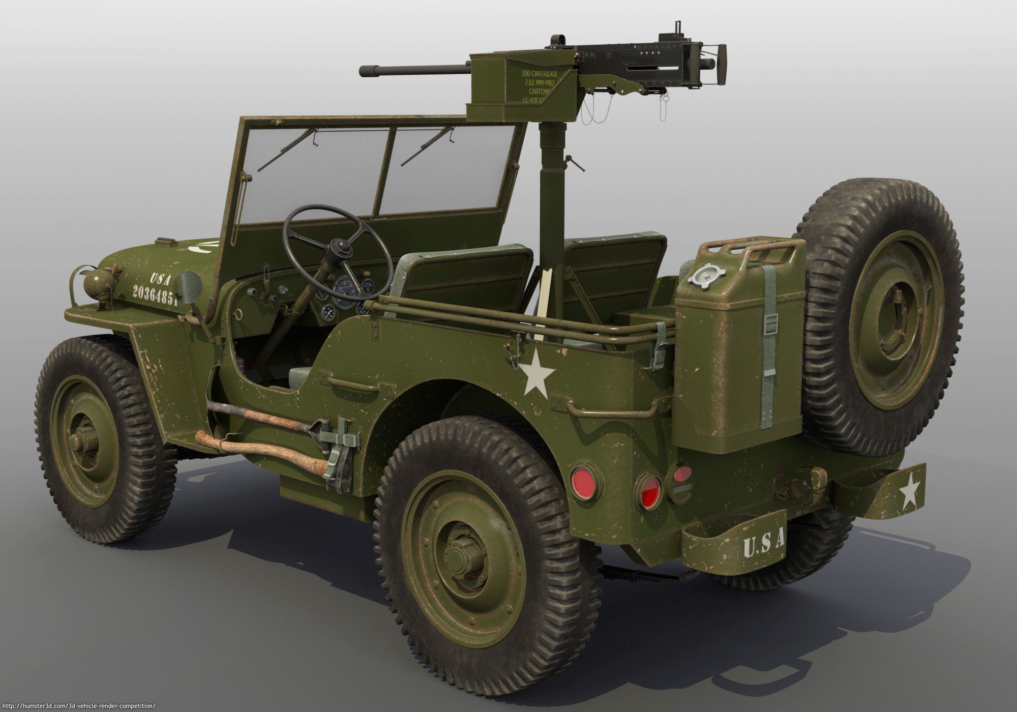 Willys U.S. Army Jeep