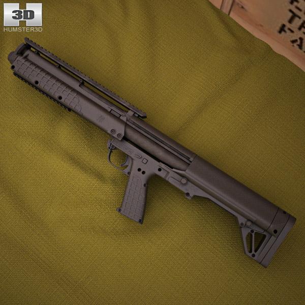 Kel-Tec KSG 3d model