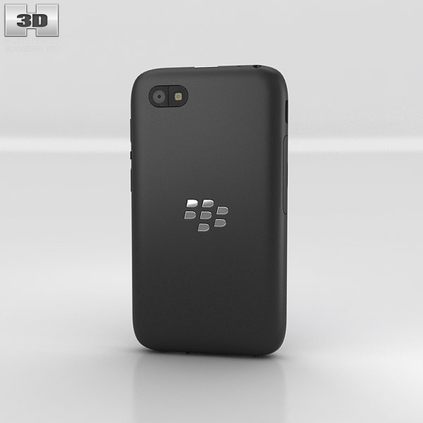 BlackBerry Q5 3d model