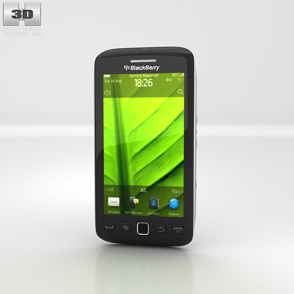BlackBerry Torch 9860 3d model