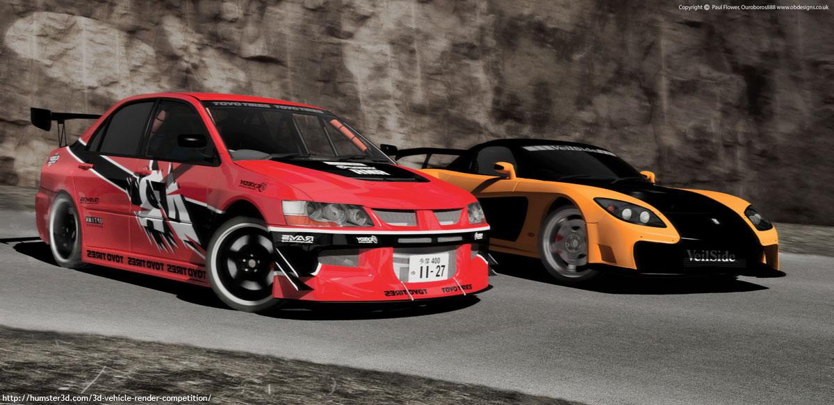 Drift 3d art