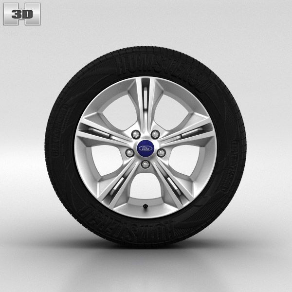 Ford Focus Wheel 16 Inch 002 3d Model Car Parts On Hum3d