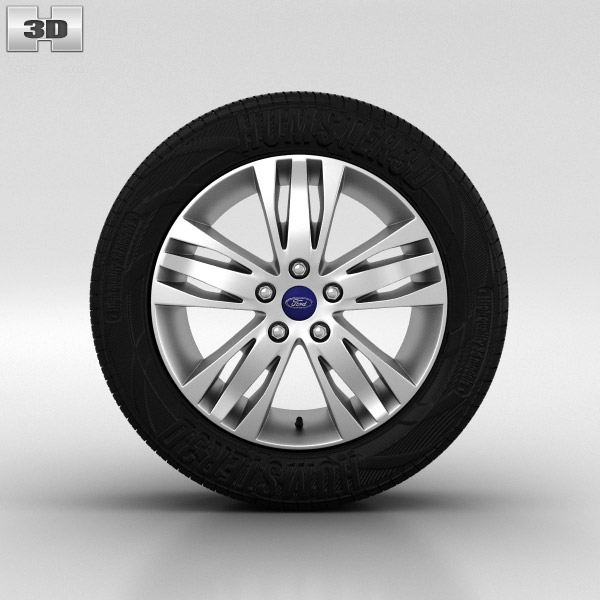 Ford Focus Wheel 16 inch 003 3d model