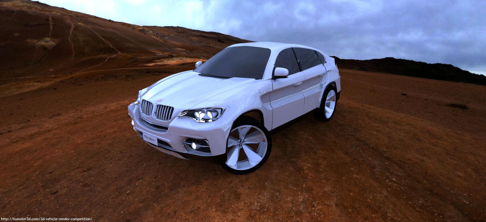 Glory car 3d art