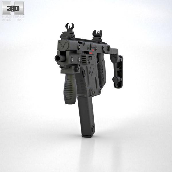 KRISS Vector SMG 3D model
