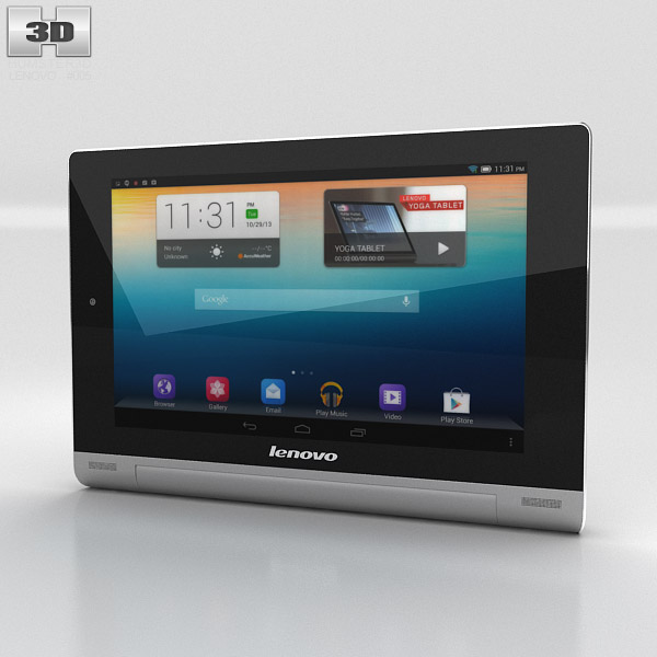 Lenovo Yoga Tablet 8 3d model