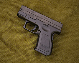 Springfield Armory XD (HS2000) 3.5 inch sub-compact 3D model