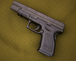 Springfield Armory XD (HS2000) 5 inch compact 3D model