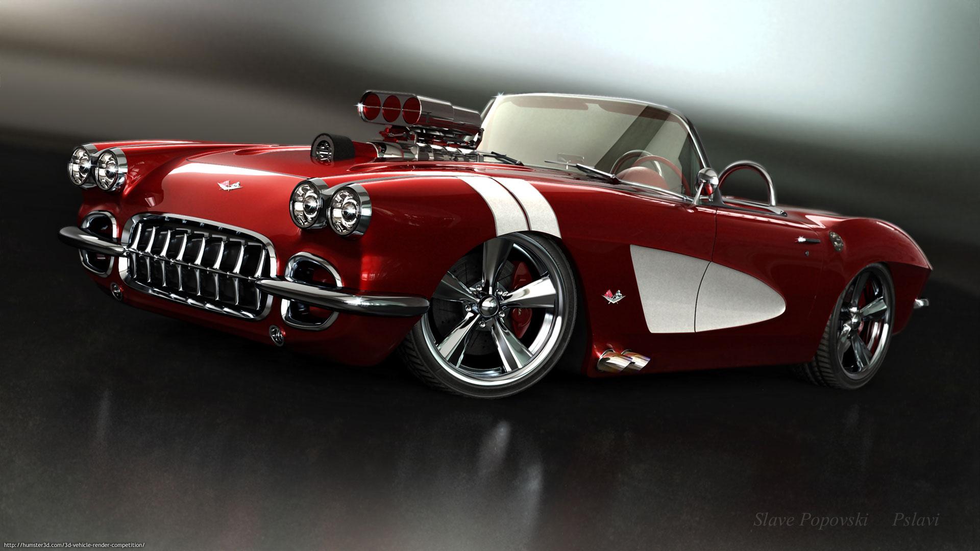 My 59 corvette model