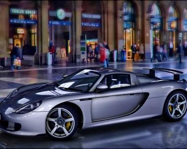 CG rendering of Porsche 911 Carrera GT