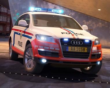 Audi Q7 Holland Police