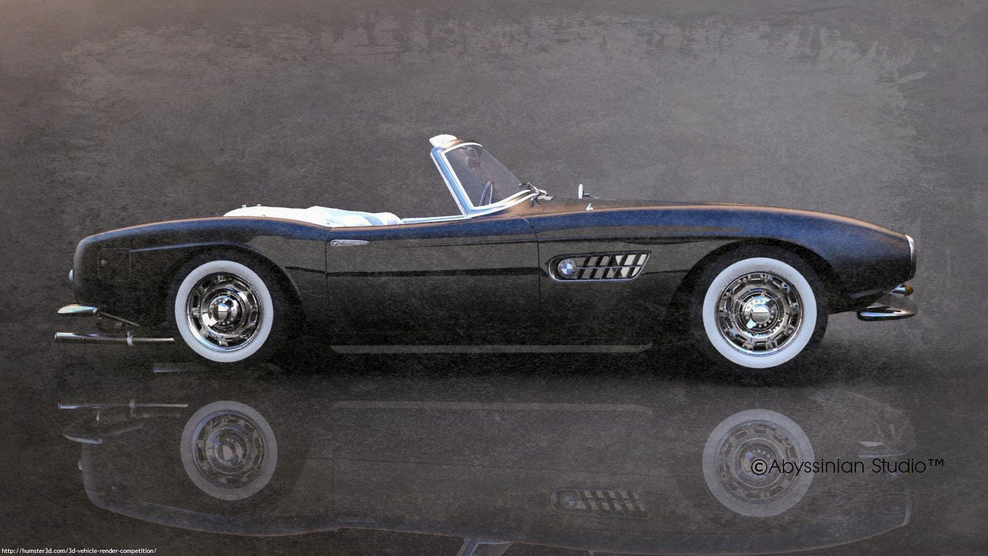 BMW 570 1955 3d art