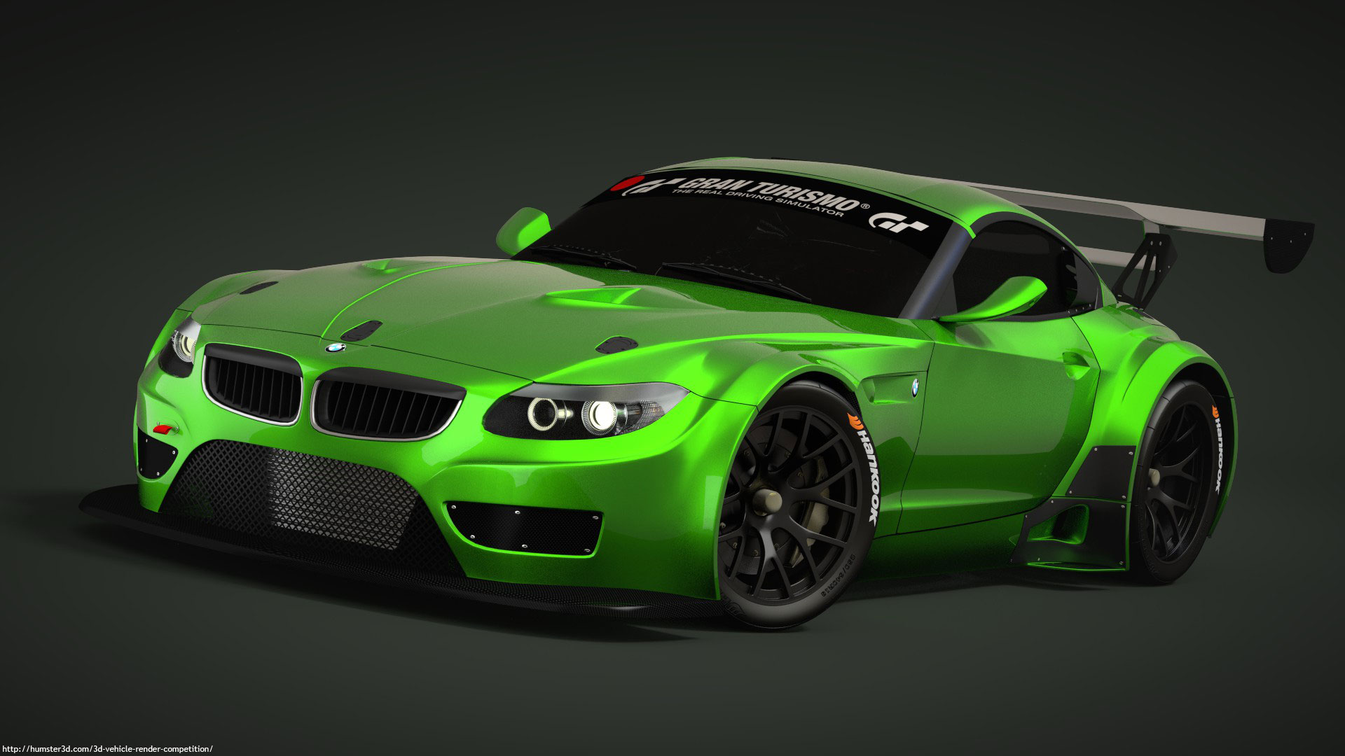 Bmw Z4 Gt3 Neubi3d 3d Vehicle Competition Hum3d