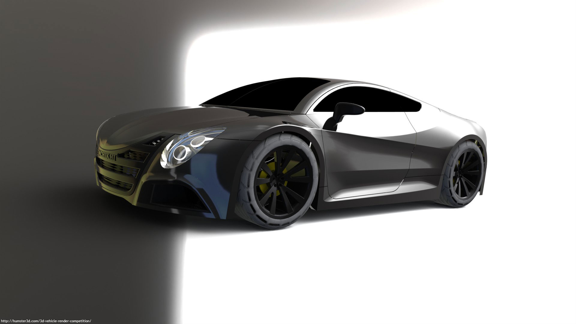 Casablanca concept car 3d art