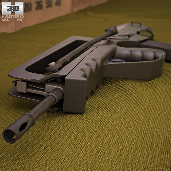 FAMAS G2 3d model