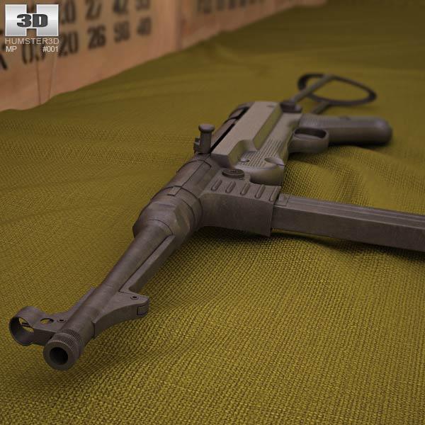 MP 40 3d model