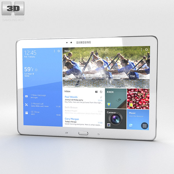 Samsung Galaxy TabPRO 10.1 3d model