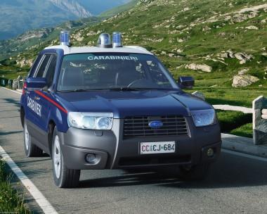 Subaru Forester Police