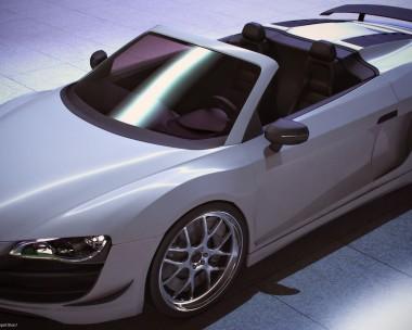 Audi R8 Render
