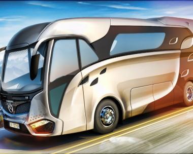 Concept rv for Mercedes Benz