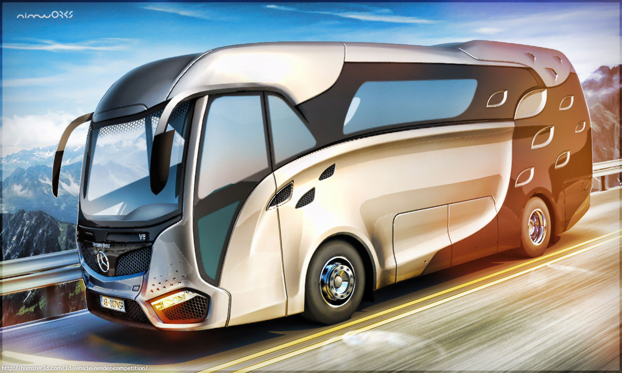 Concept rv for Mercedes Benz